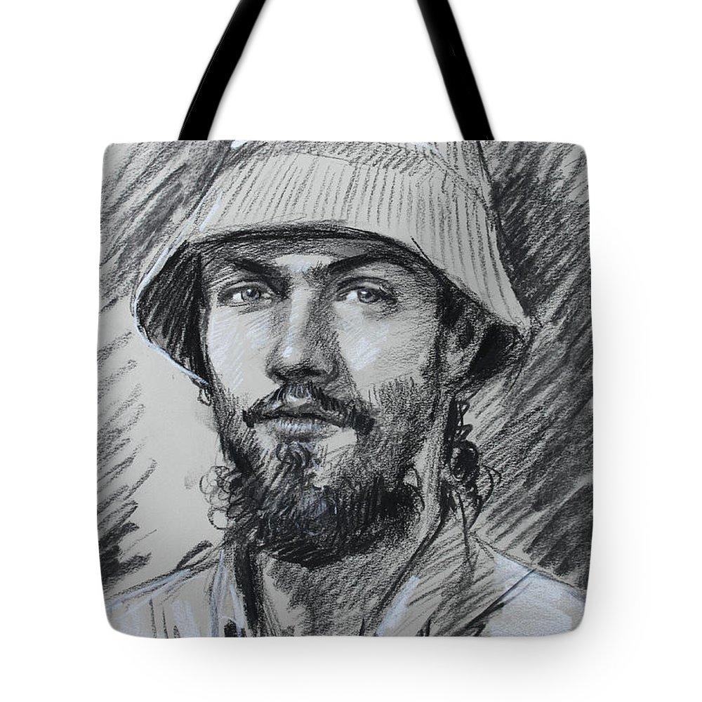 Beard Tote Bags