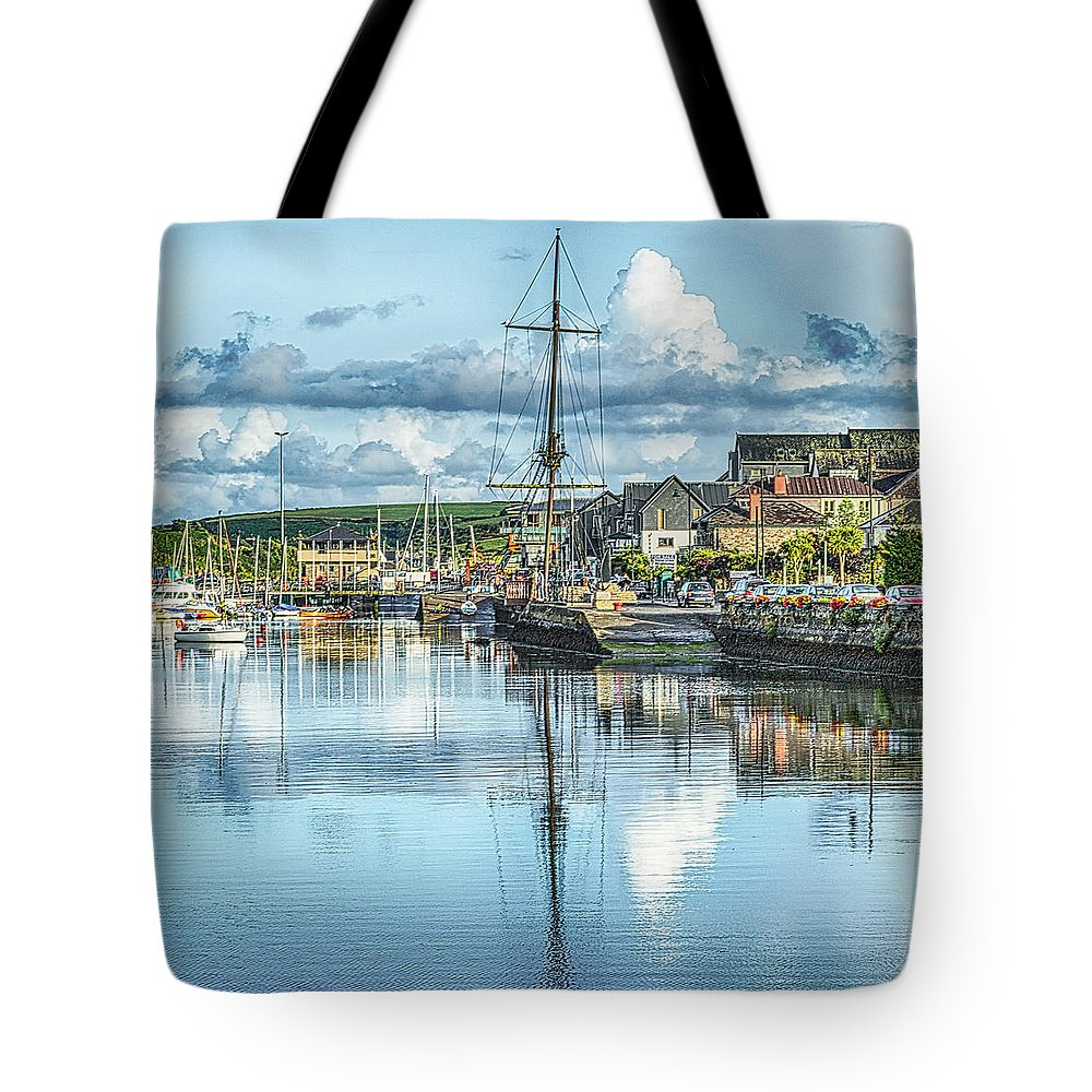 Ireland Tote Bag featuring the photograph Kinsale Ireland by James Gordon Patterson