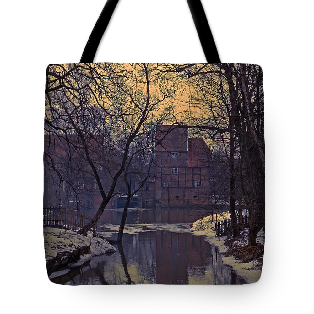 Cloister Tote Bag featuring the photograph Kloster Wienhausen by Bruce Blanchard