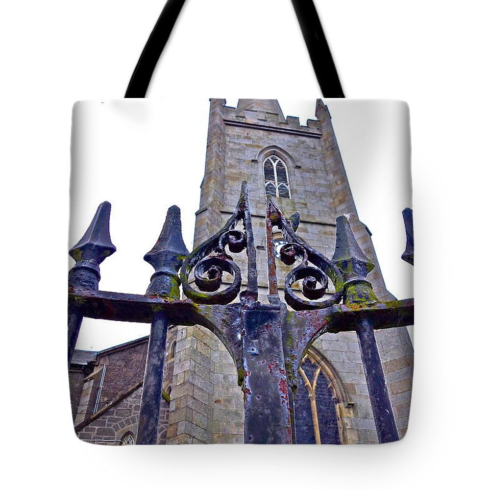 Gates Tote Bag featuring the photograph Knock Knock by Charlie Brock