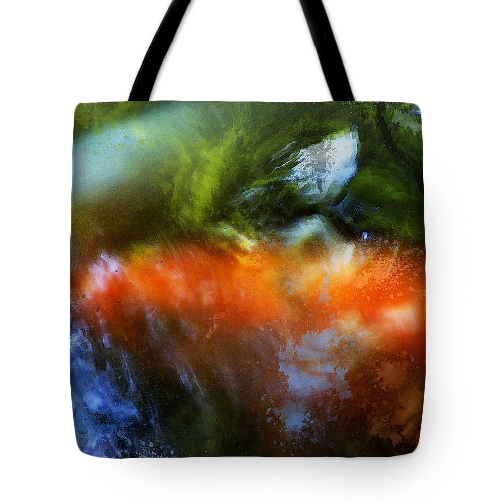 Koi Tote Bag featuring the photograph Koi Dream by John Cardamone
