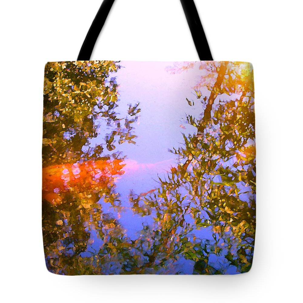 Animal Tote Bag featuring the painting Koi Fish 4 by Amy Vangsgard