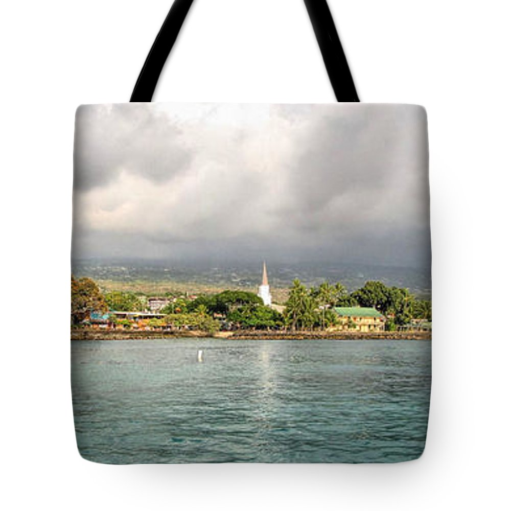 Kona Tote Bag featuring the photograph Kona 2 by C H Apperson
