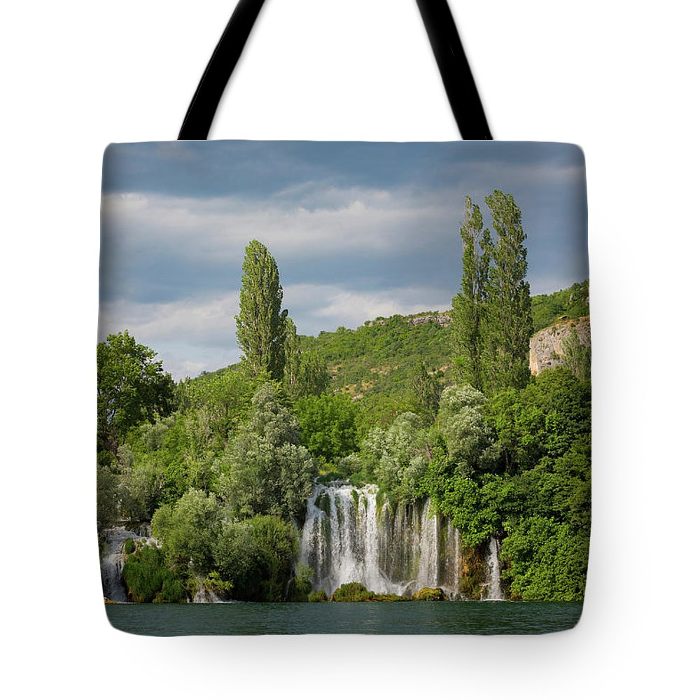 Photography Tote Bag featuring the photograph Krka National Park, Nacionalni Park by Panoramic Images