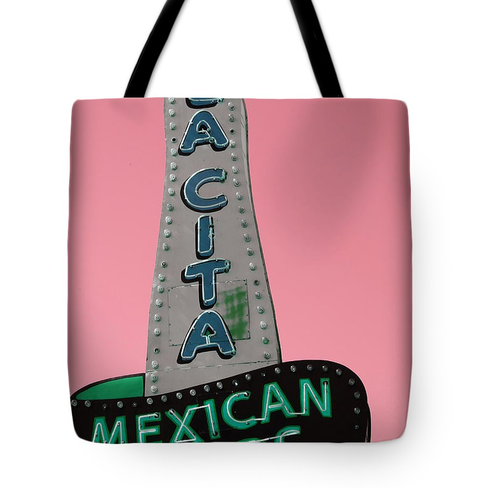 La Cita Tote Bag featuring the photograph La Cita by Lynn Sprowl