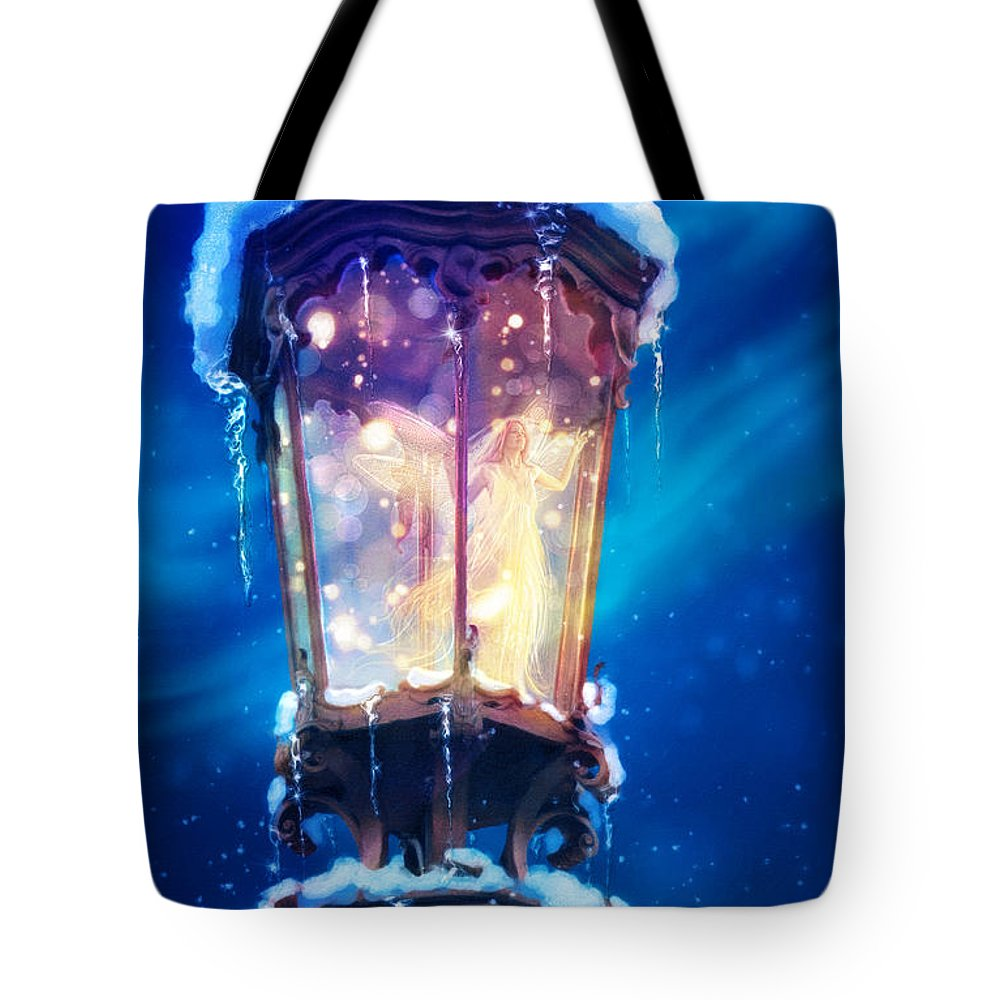 Aimee Stewart Tote Bag featuring the digital art La Lumiere by Aimee Stewart