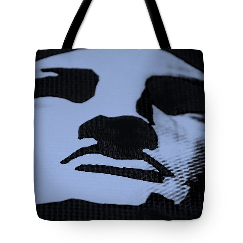 Statue Of Liberty Tote Bag featuring the photograph Lady Liberty In Dark Cyan by Rob Hans