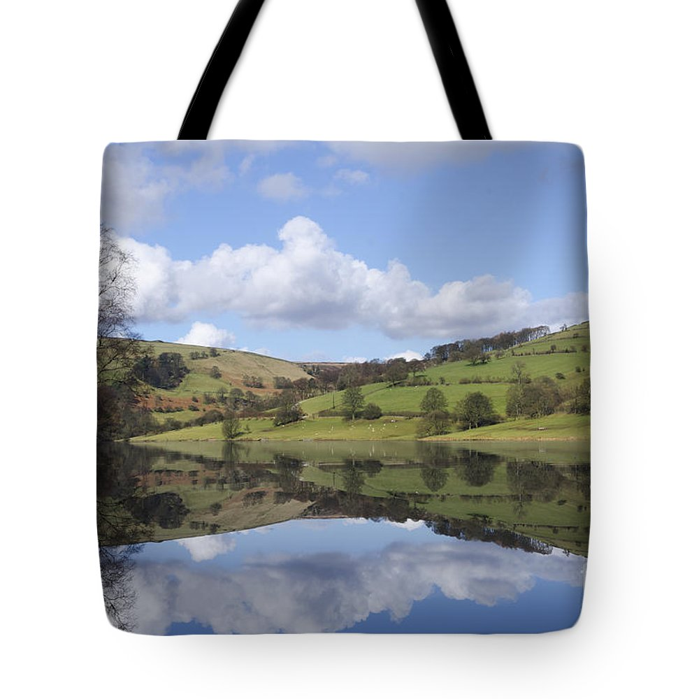 Peak District Tote Bag featuring the photograph Ladybower Reservoir by Steev Stamford