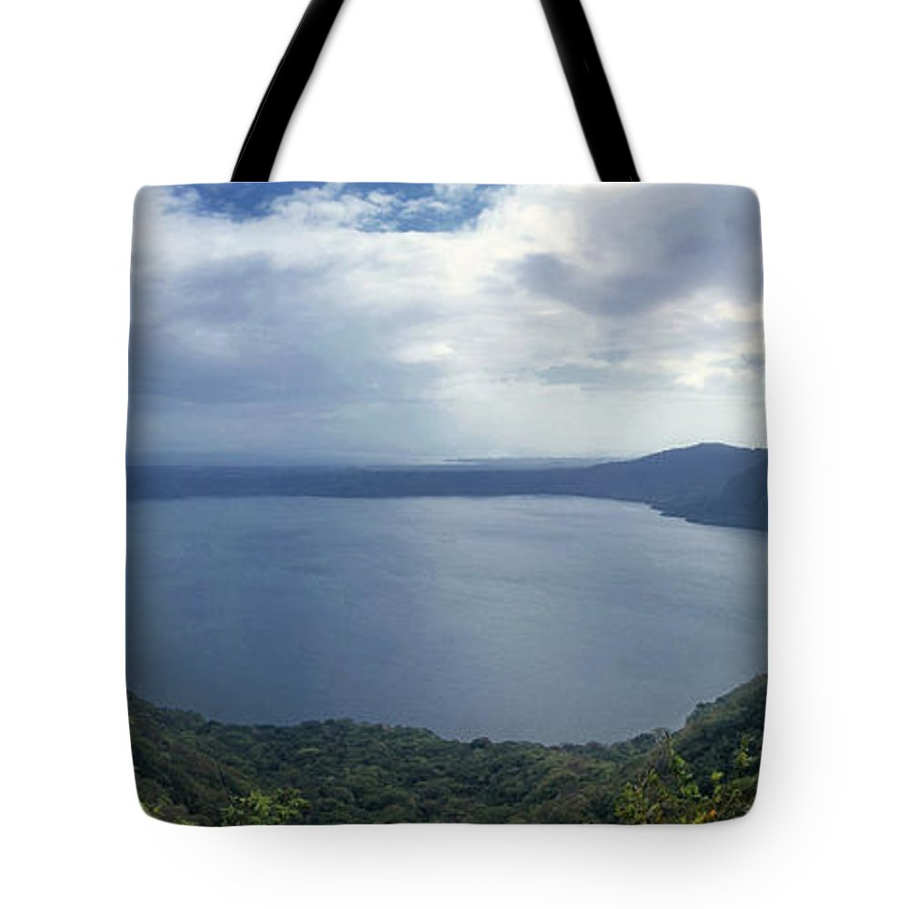 Central Tote Bag featuring the photograph Laguna De Apoyo Nicaragua 2 by Rudi Prott