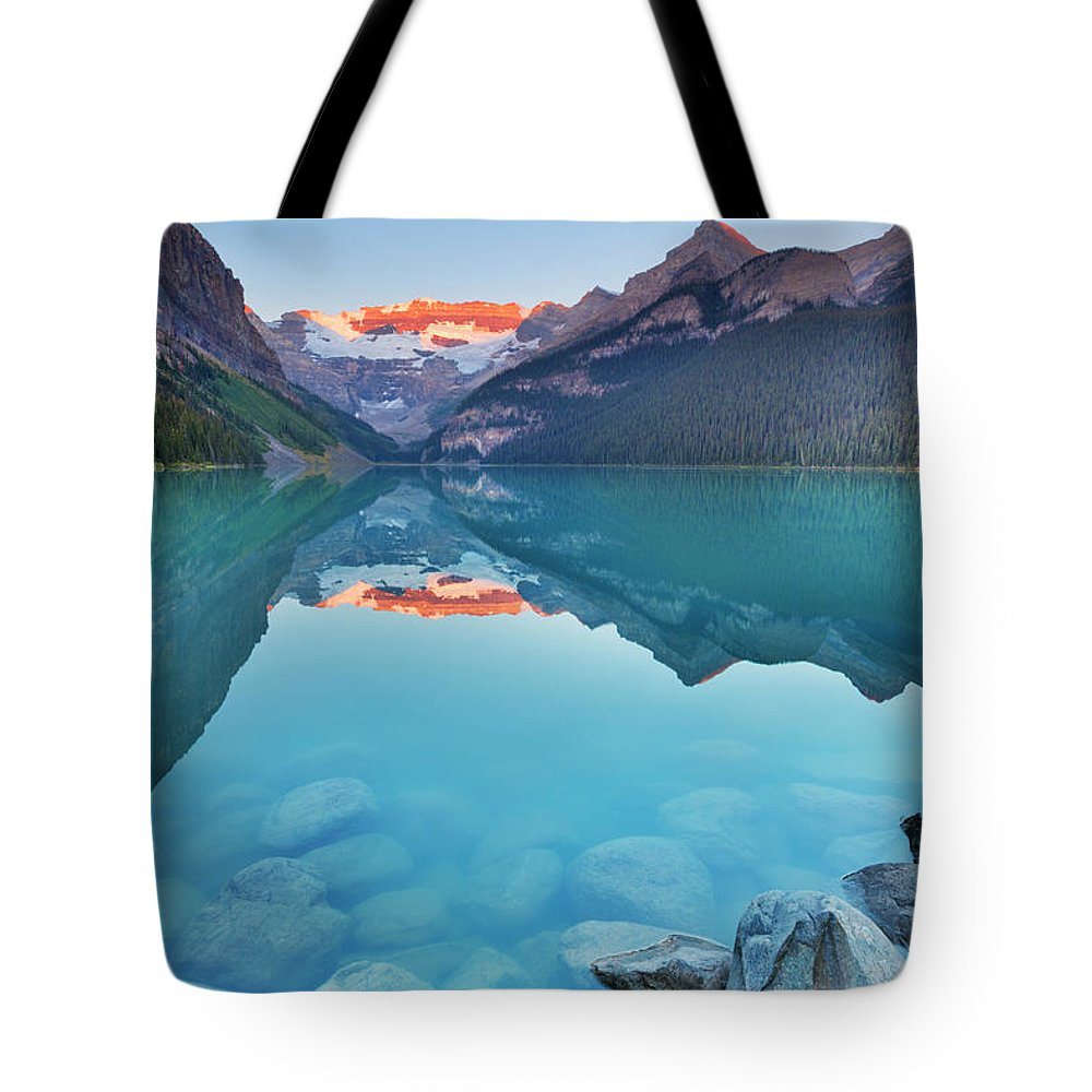 Scenics Tote Bag featuring the photograph Lake Louise, Banff National Park by Sara winter
