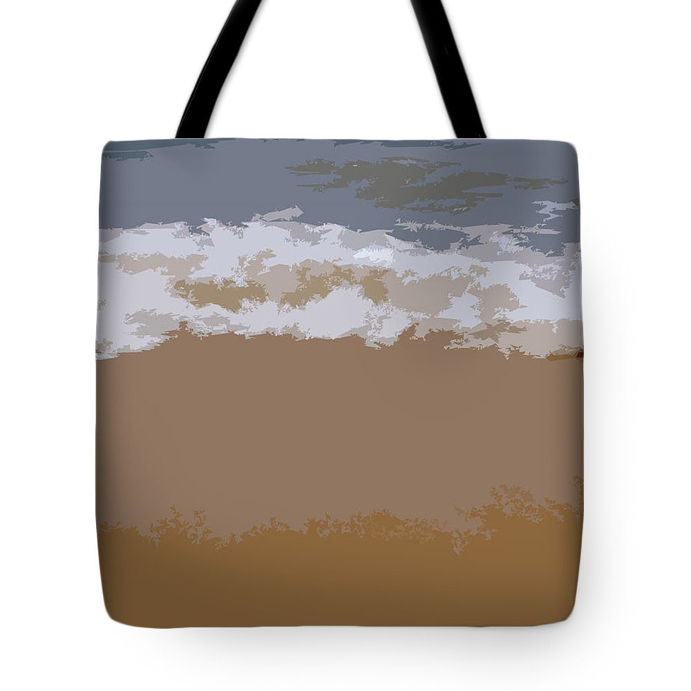 Beach Tote Bag featuring the photograph Lake Michigan Shoreline by Michelle Calkins