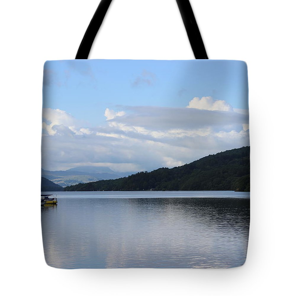 Lakes Tote Bag featuring the photograph Lake Windermere by Martin Newman