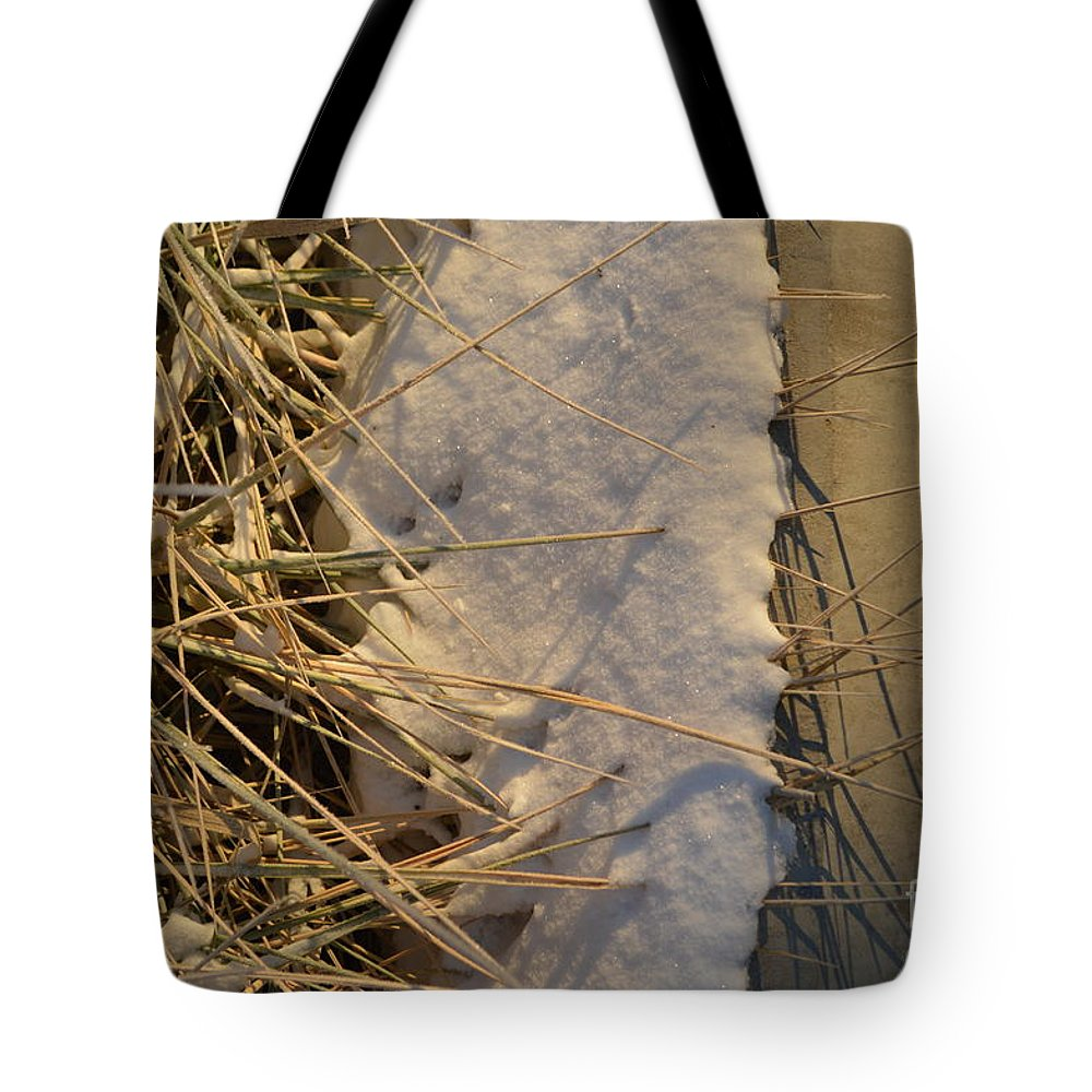 Lance Tote Bag featuring the photograph Lanceing Through The Layers by Brian Boyle