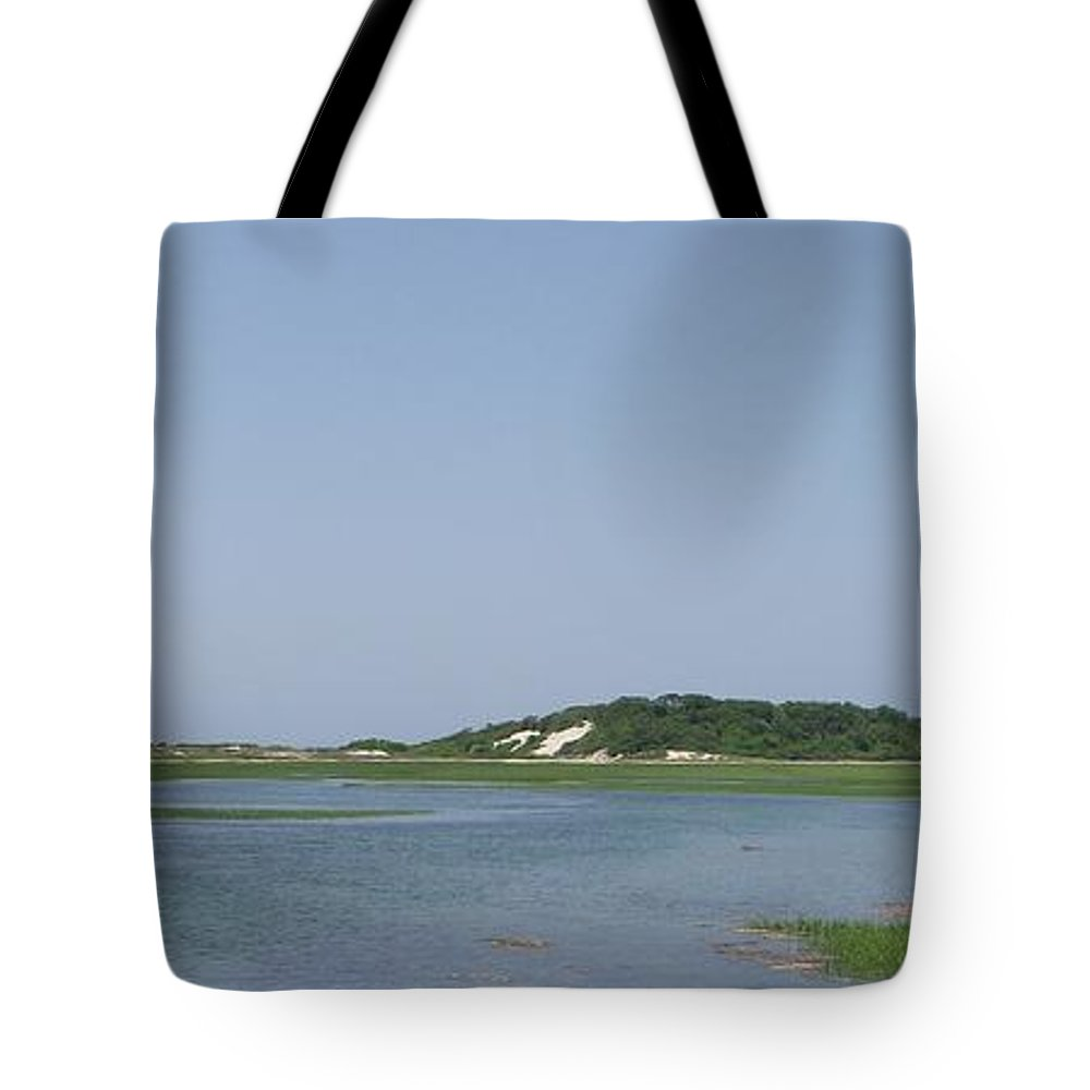 Provincetown Tote Bag featuring the photograph Land's End Dunes by Michelle Welles
