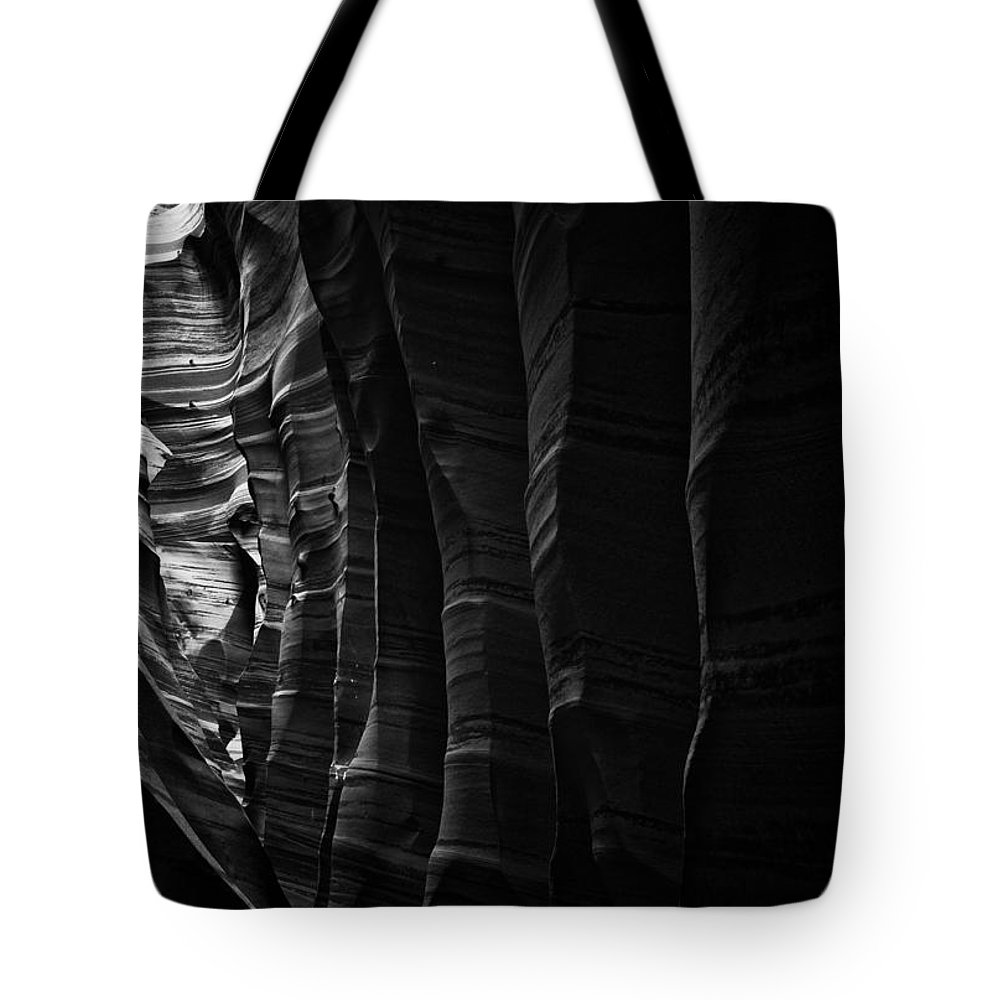 Abstract Tote Bag featuring the photograph Landscape 118 by Ingrid Smith-Johnsen