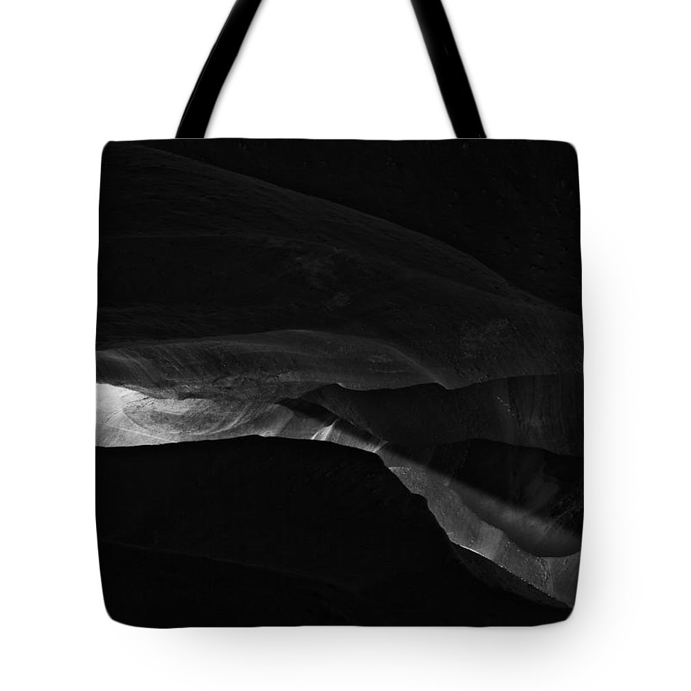 Abstract Tote Bag featuring the photograph Landscape 162 by Ingrid Smith-Johnsen