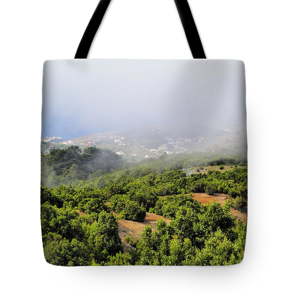 Hierro Tote Bag featuring the photograph Landscape by Karol Kozlowski