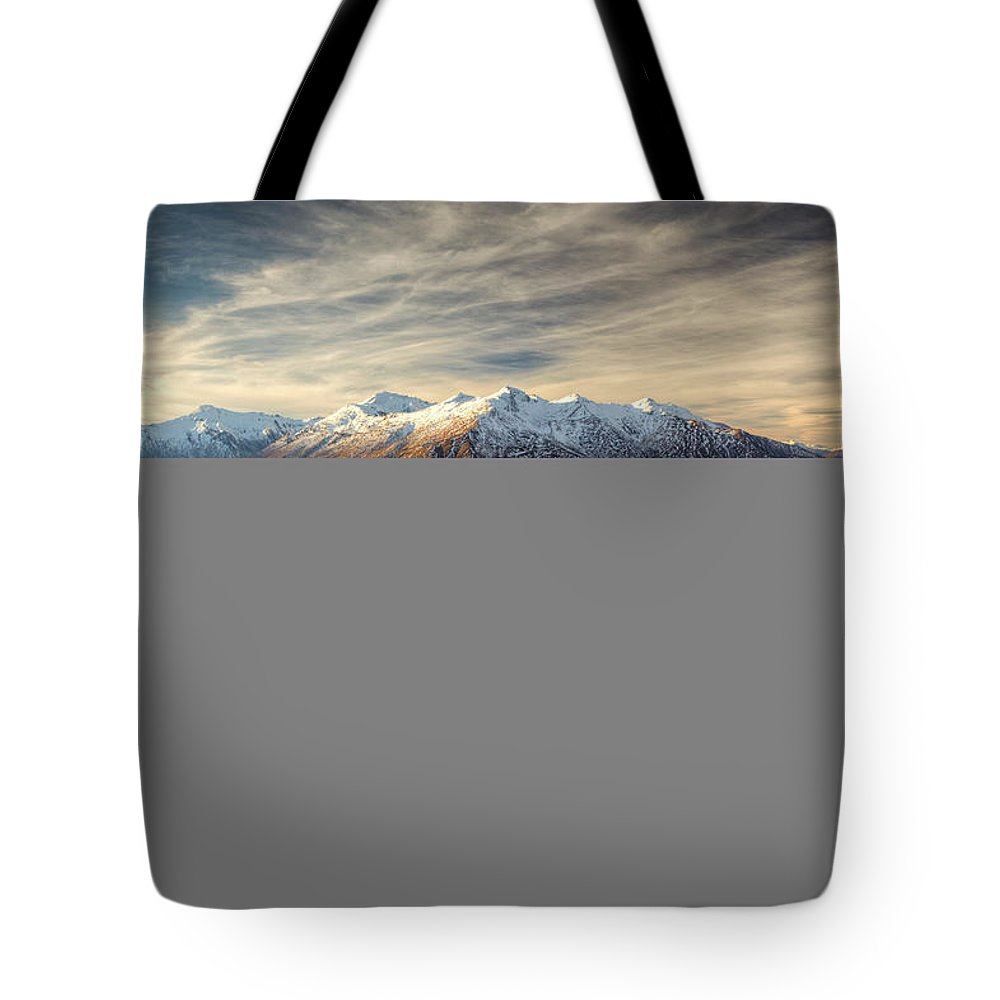 Tranquility Tote Bag featuring the photograph Landscape Of Wanaka by Joao Inacio