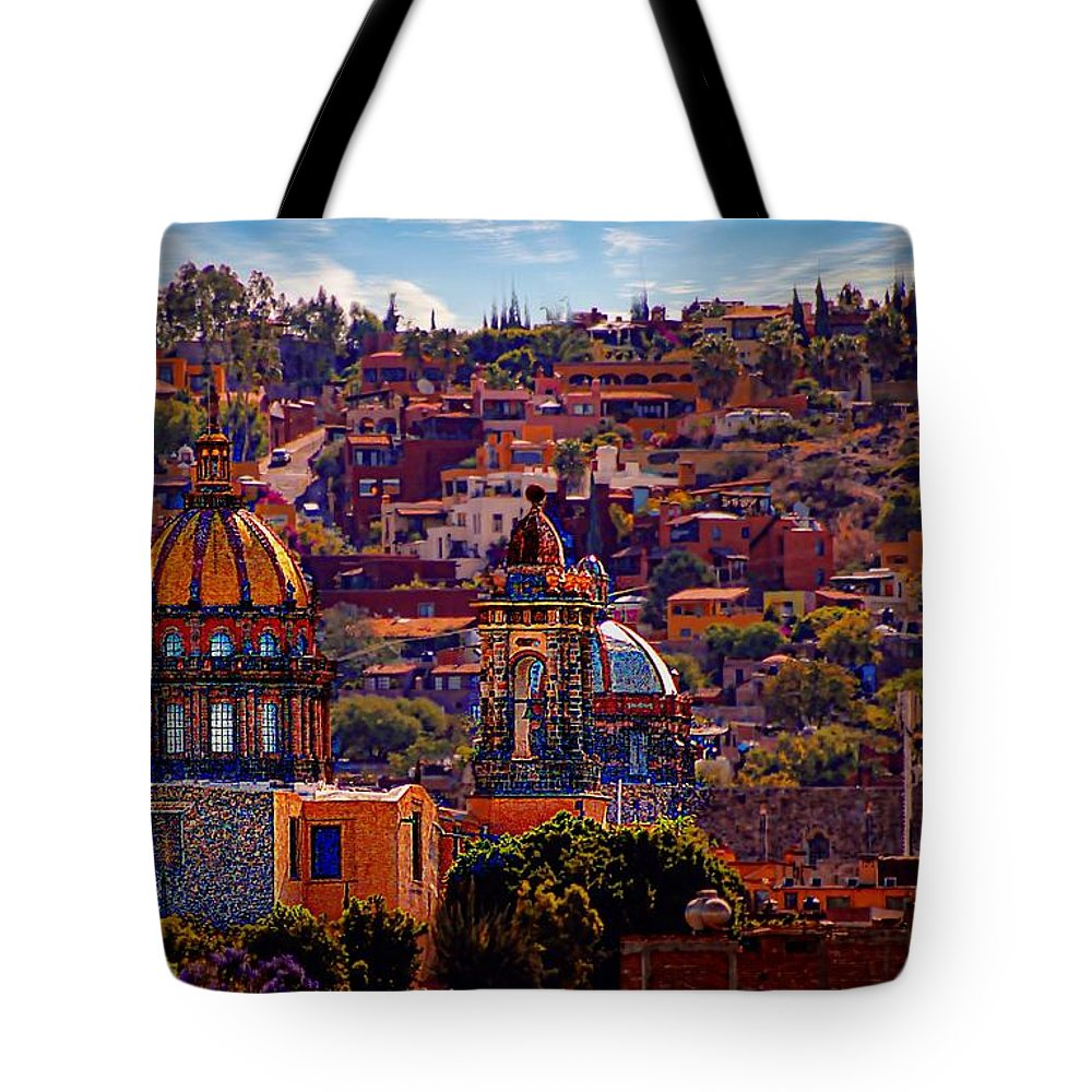 John+kolenberg Tote Bag featuring the photograph Las Monjas by John Kolenberg