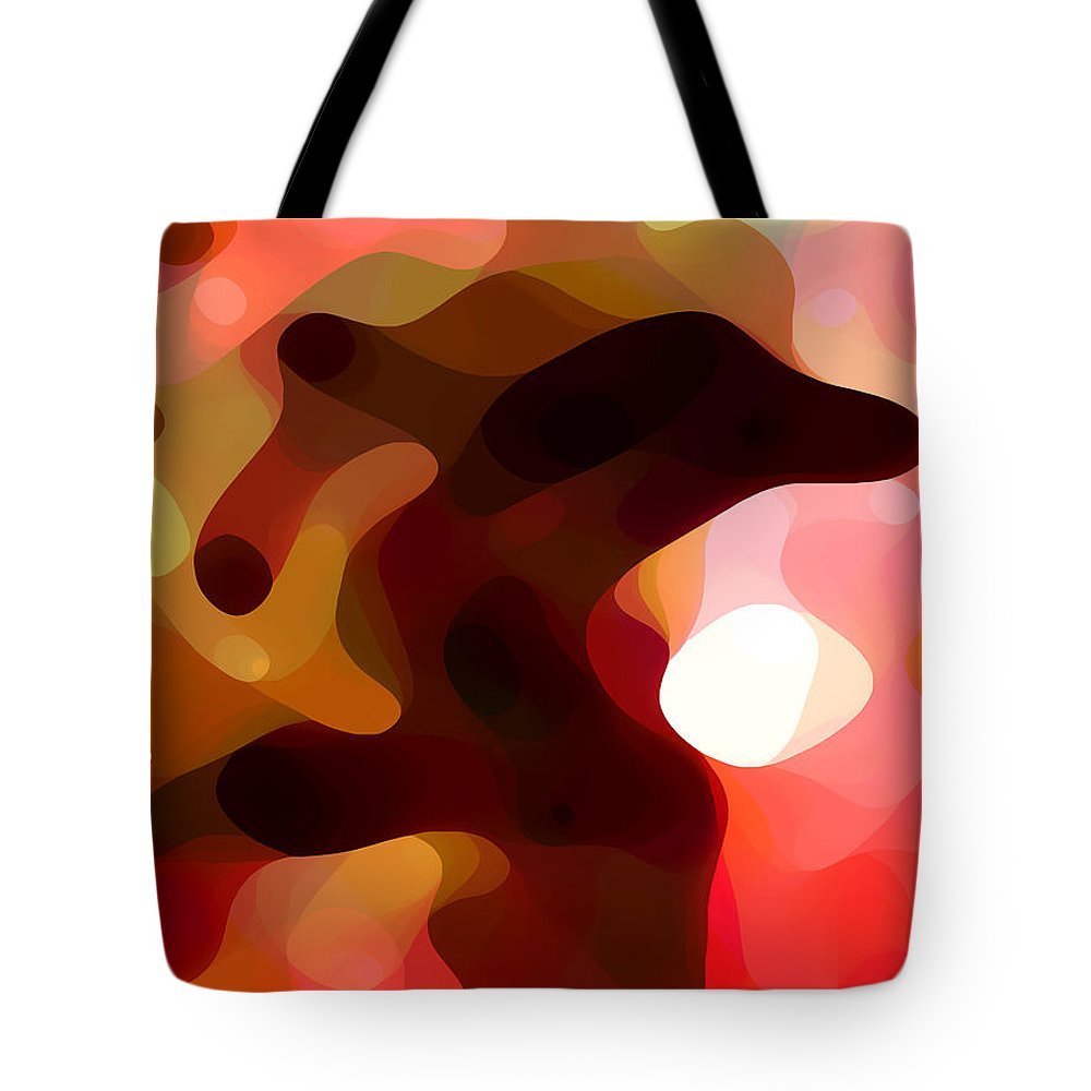 Bold Tote Bag featuring the painting Las Tunas by Amy Vangsgard