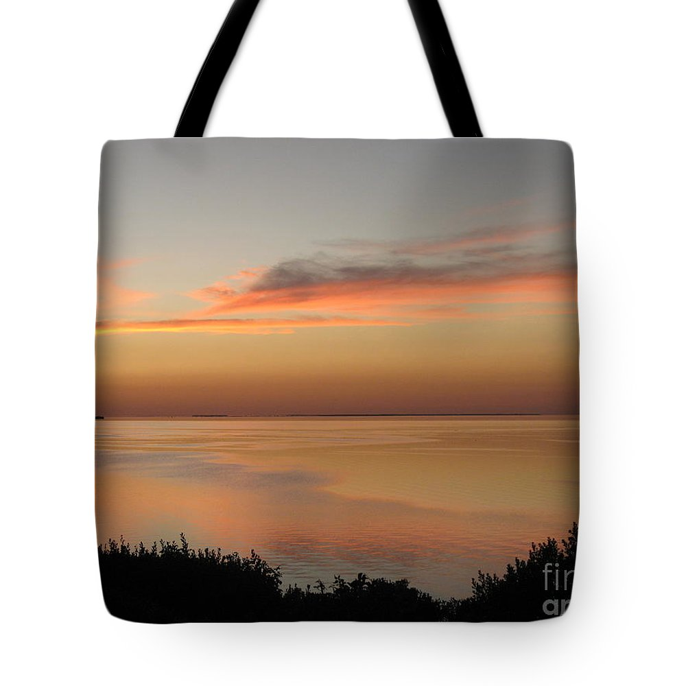 Sunset Tote Bag featuring the photograph Last Golden Rays Of Light by Christiane Schulze Art And Photography