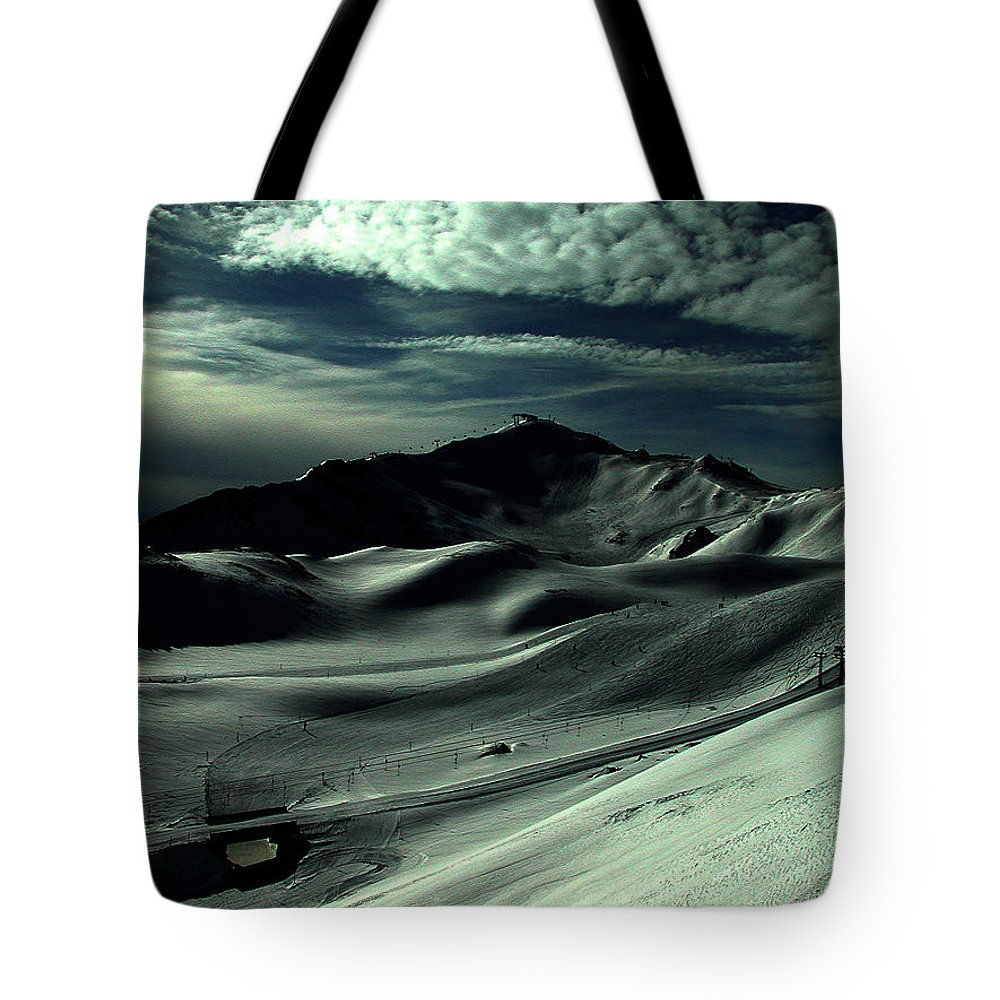Colette Tote Bag featuring the photograph Late Afternoon In The Mountains by Colette V Hera Guggenheim