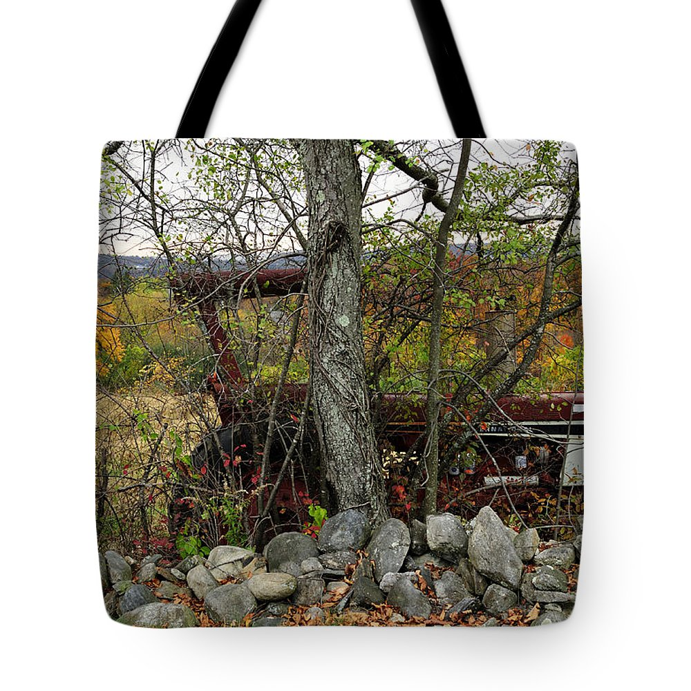 Tractor Tote Bag featuring the photograph Late October by Luke Moore