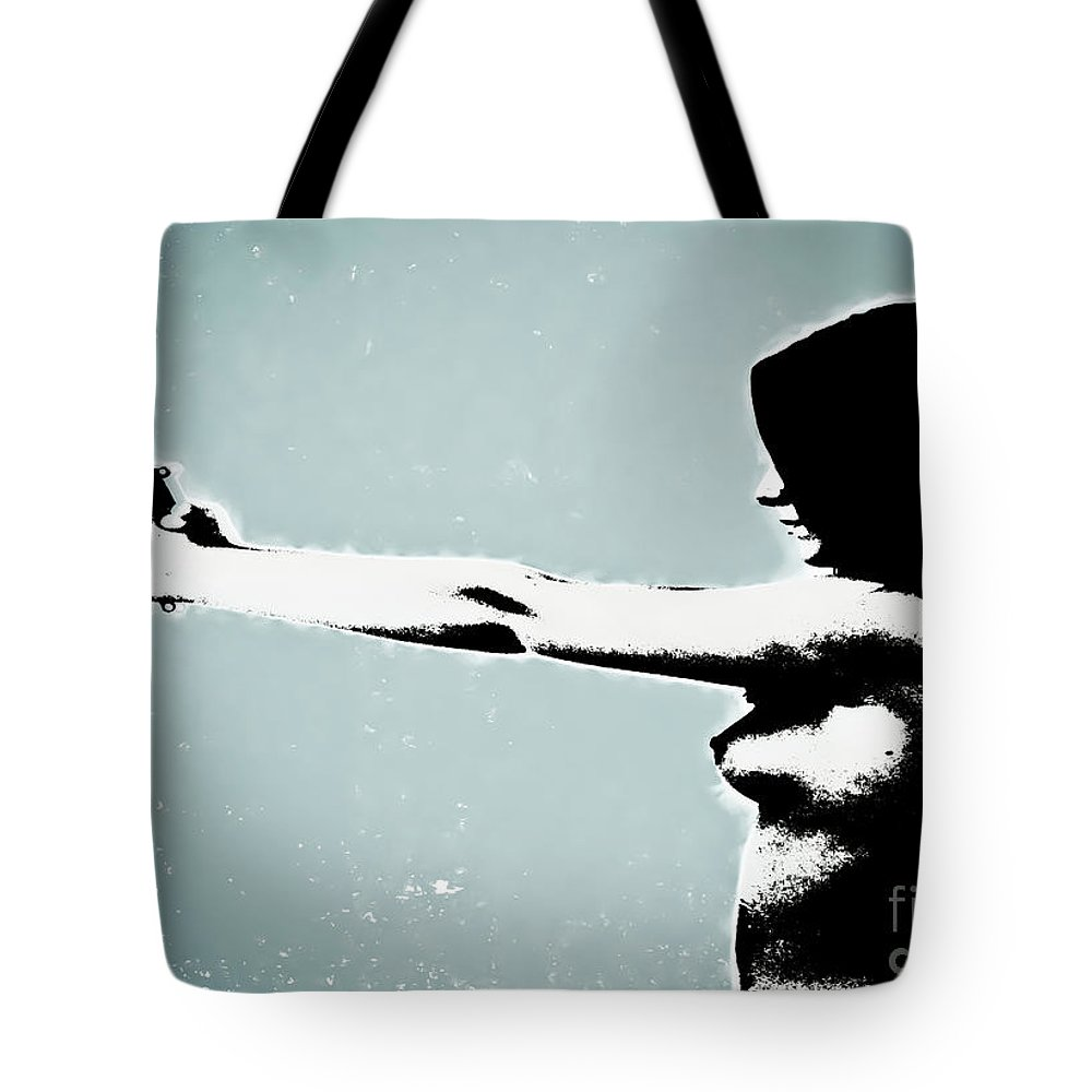 Dangerous Tote Bag featuring the photograph Later by Digital Kulprits