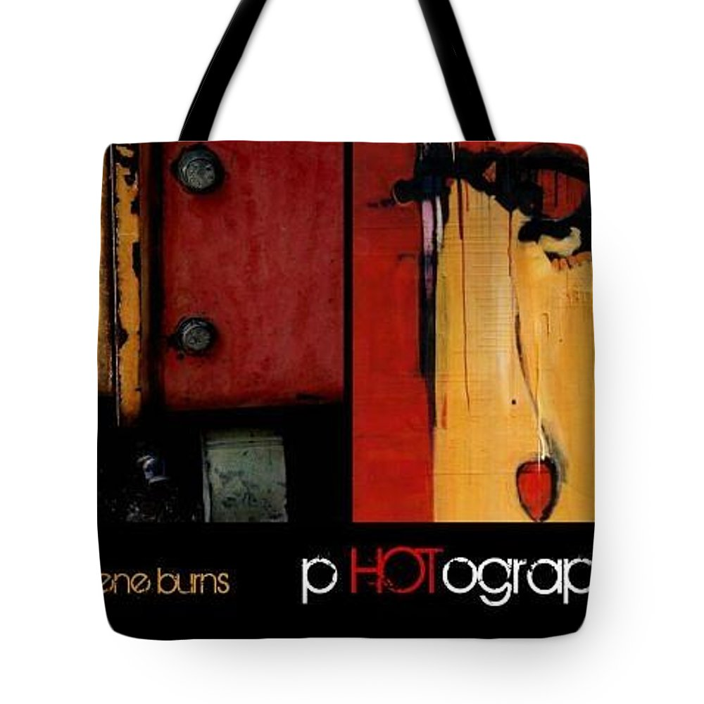 Marlene Burns Tote Bag featuring the painting Latest Book by Marlene Burns