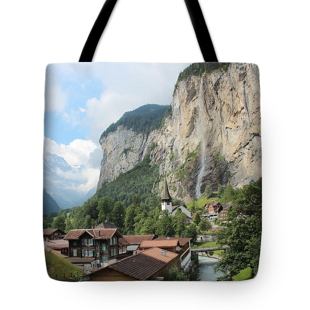 Switzerland Tote Bag featuring the photograph Lauterbrunnen by Jose Luiz Mendes