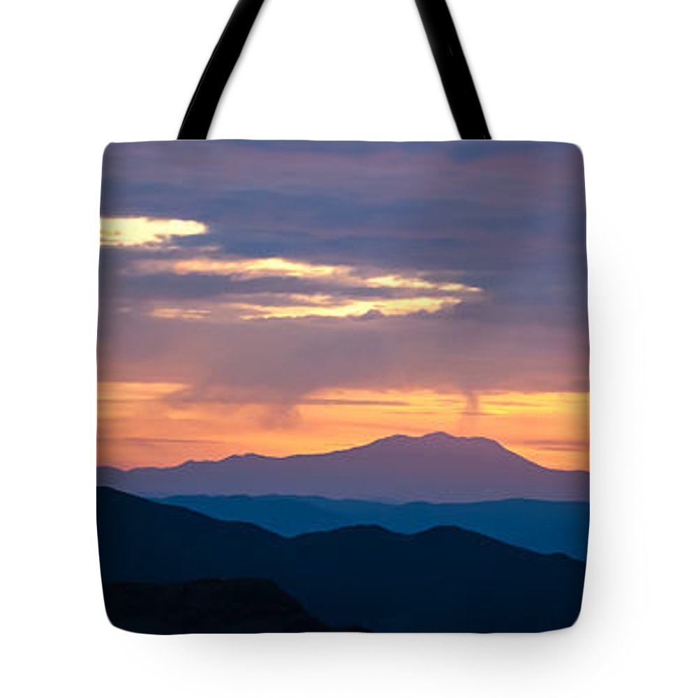 Big Sky Tote Bag featuring the photograph Layers - The Mojave II by Peter Tellone