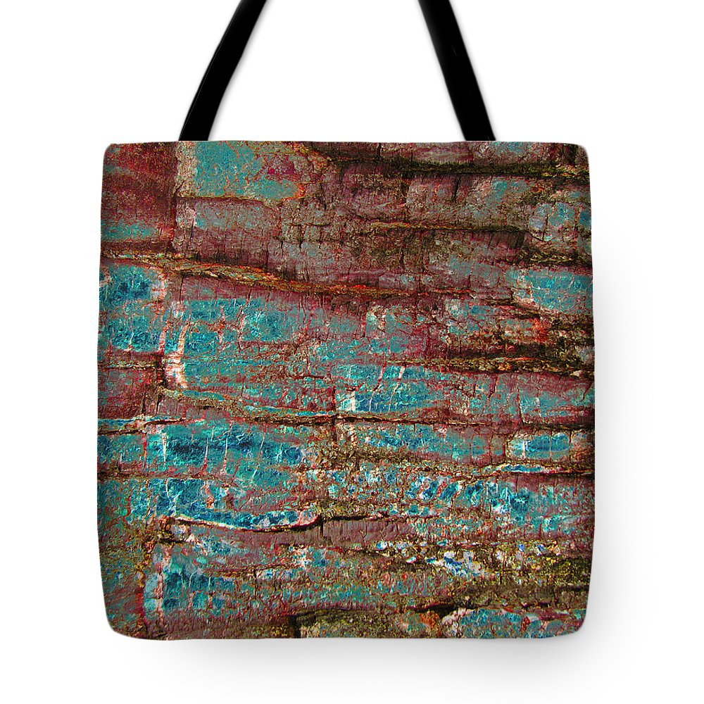 Abstract Tote Bag featuring the digital art Layers 2 by Stephanie Grant