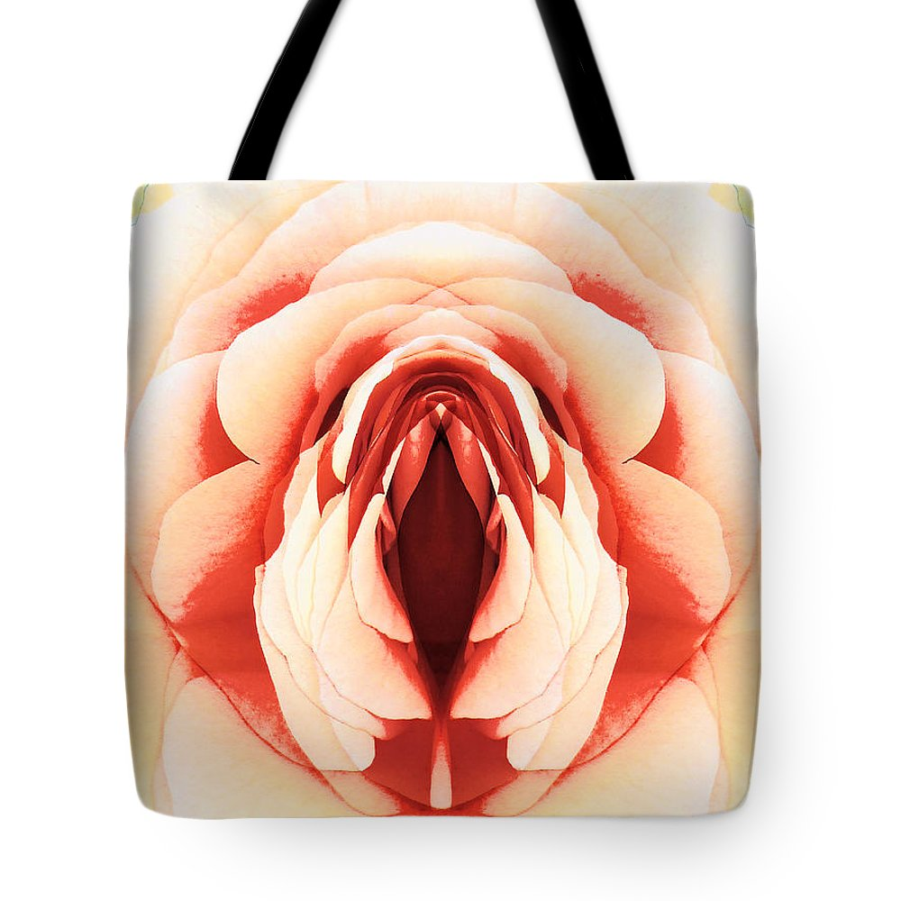 Rose Tote Bag featuring the digital art Layers by Steve Taylor