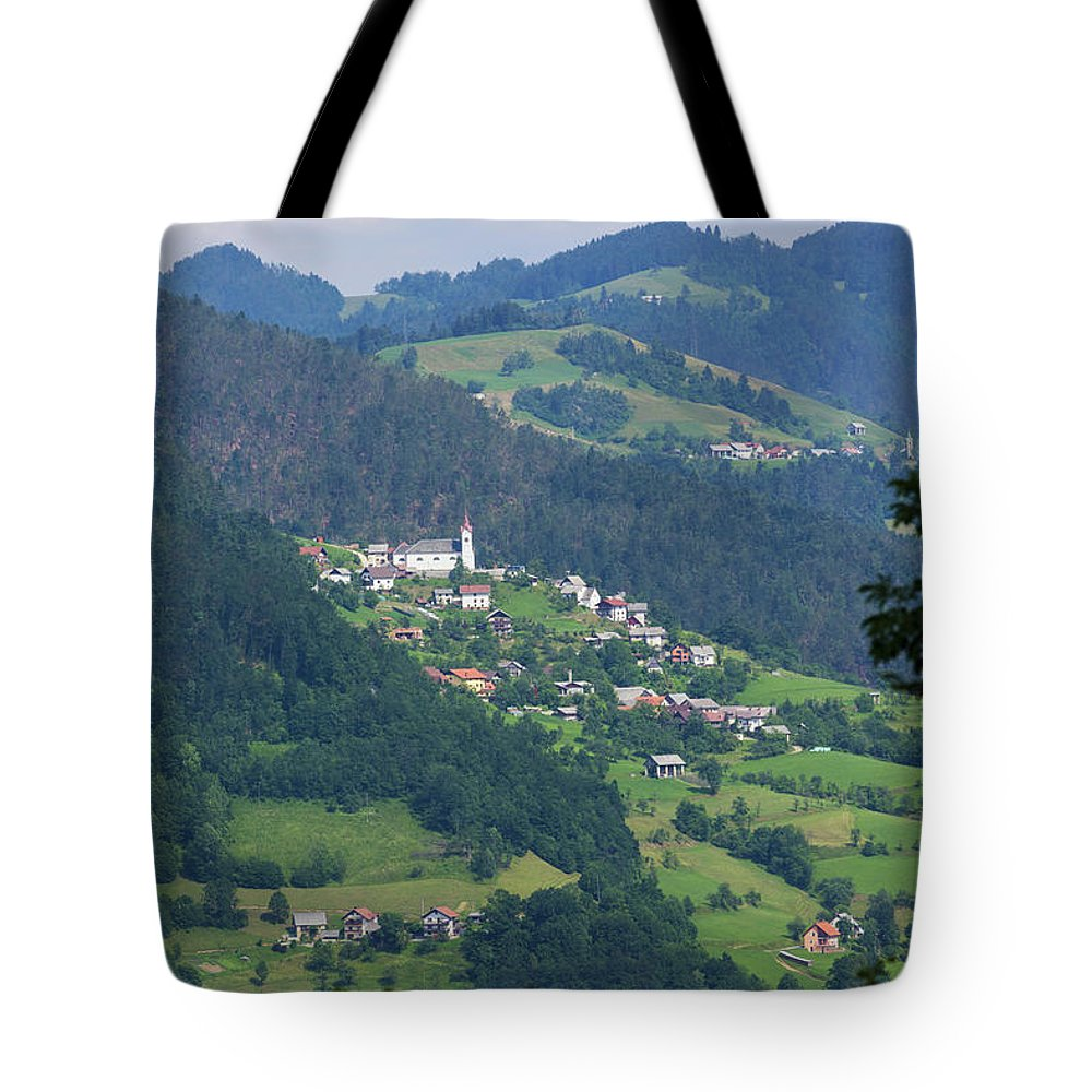 Photography Tote Bag featuring the photograph Lazec, Near Cerkno, Littoral Region by Panoramic Images
