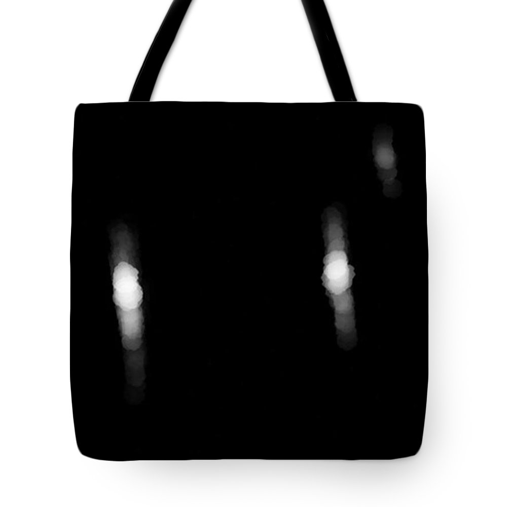 Le Mans Tote Bag featuring the digital art Le Mans Headlights by Stacy C Bottoms
