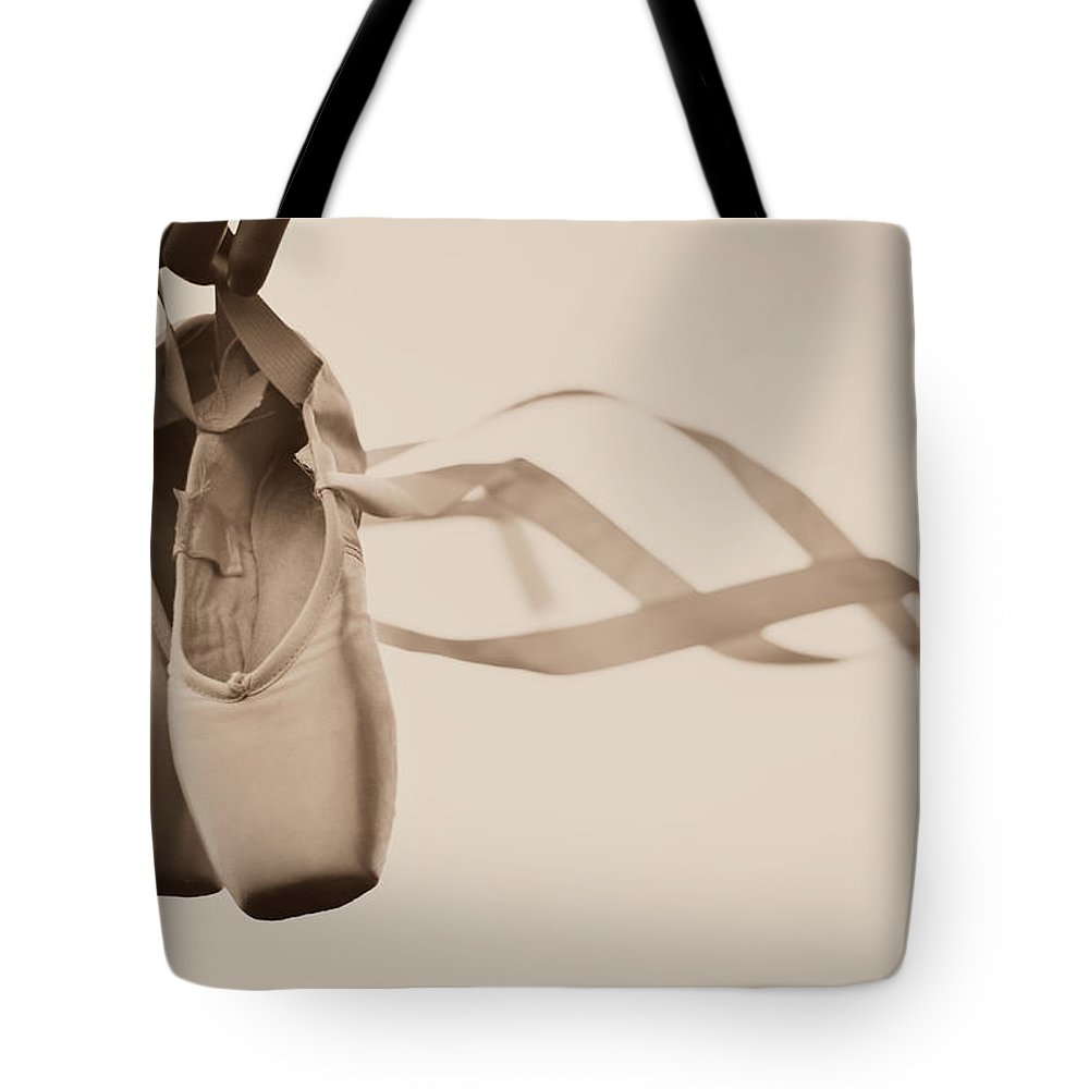 Dance Tote Bag featuring the photograph Learning To Fly by Laura Fasulo