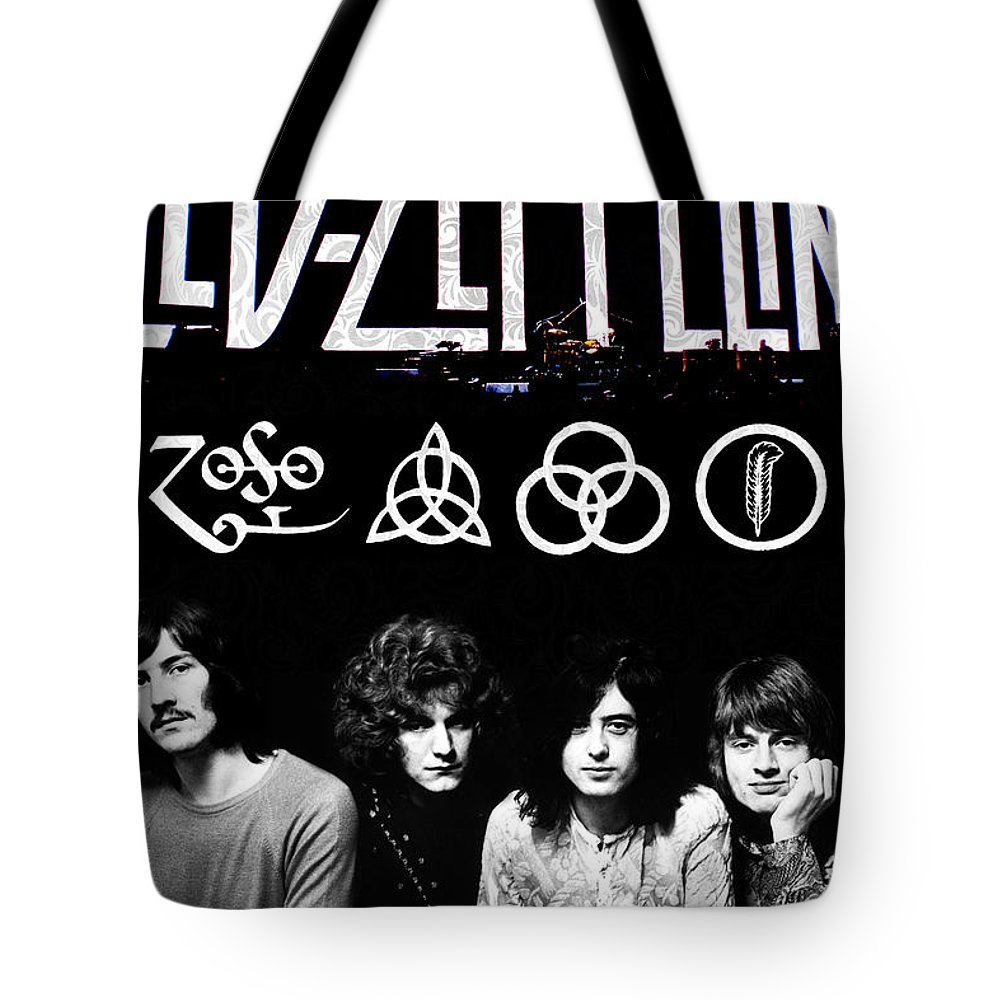 Led Zeppelin Tote Bags