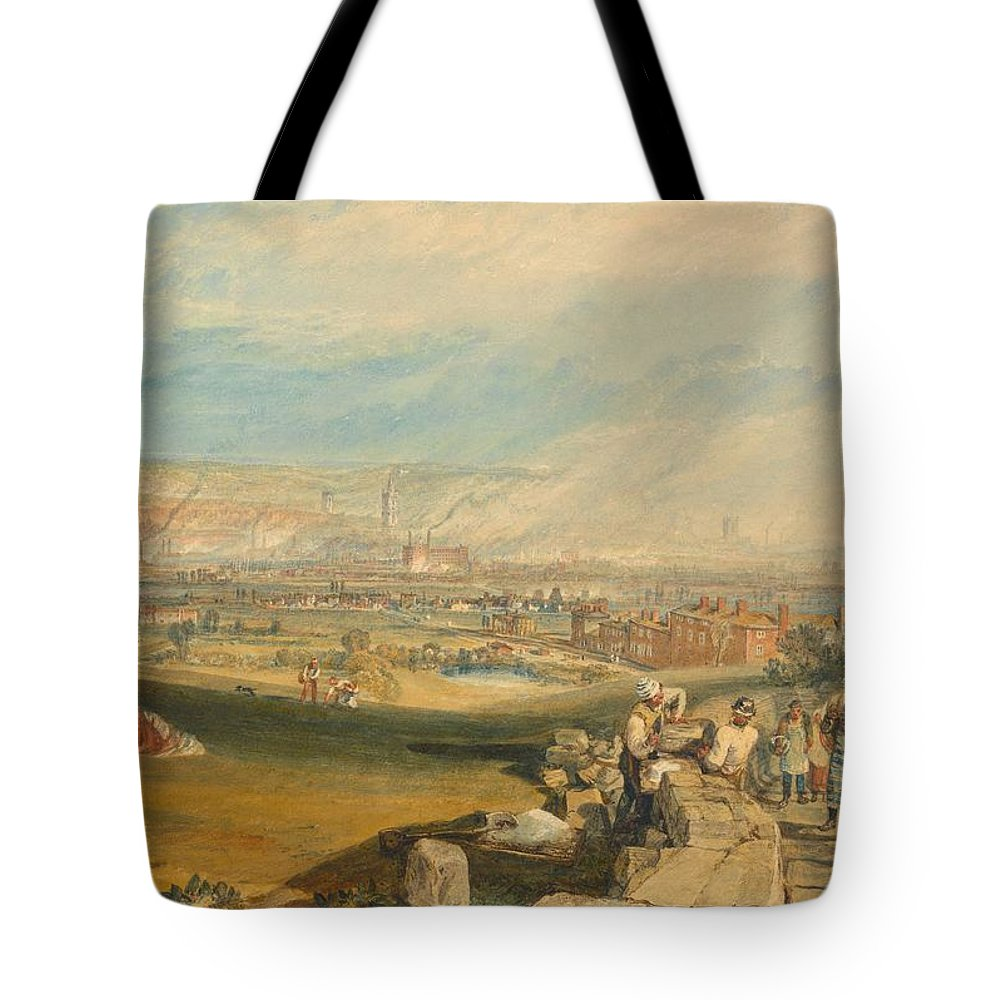 1816 Tote Bag featuring the painting Leeds by JMW Turner