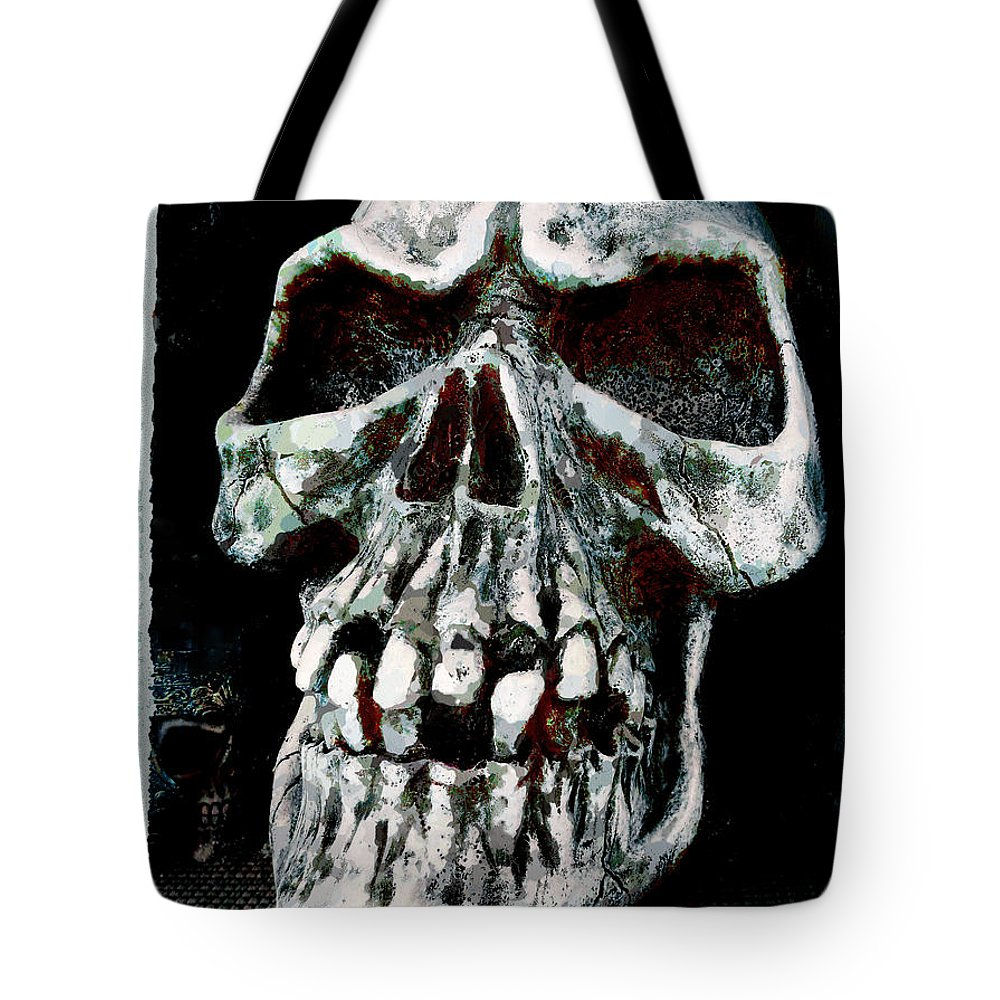 Rotten Tote Bag featuring the photograph Left On The Shelf by Steve Taylor
