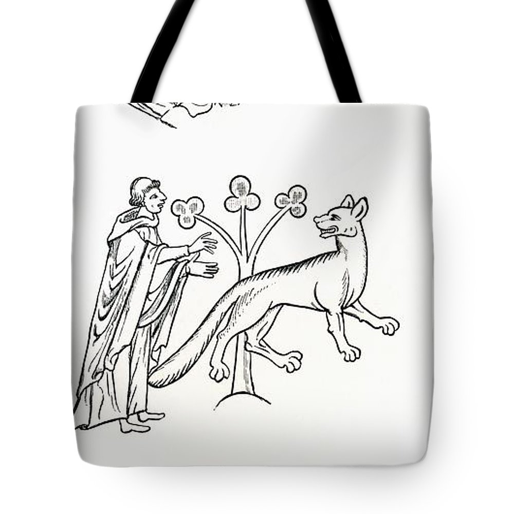 Fable Tote Bag featuring the photograph Legend Of The Priest And People Changed by Ken Welsh