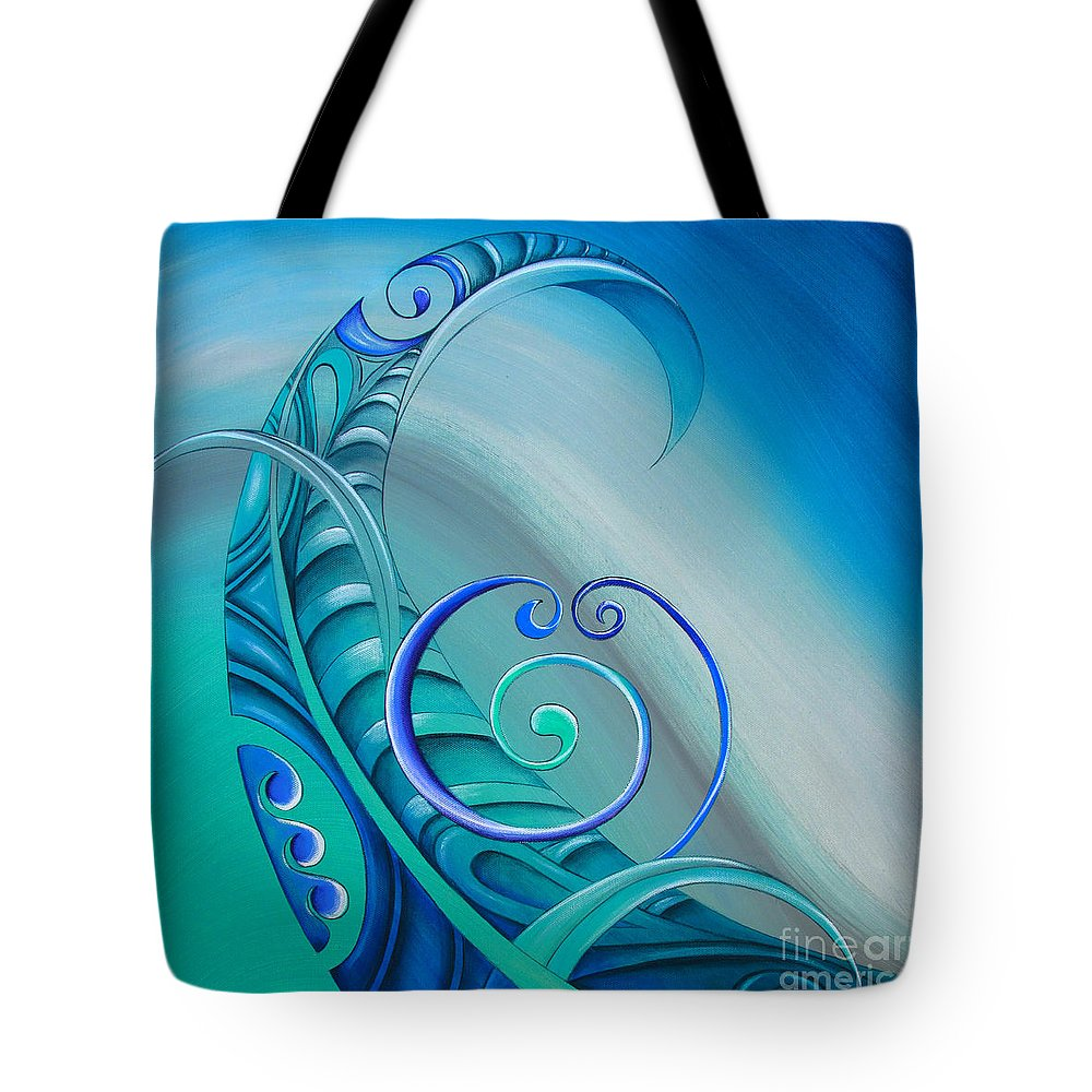 Legend Tote Bag featuring the painting Legend By Reina Cottier by Reina Cottier