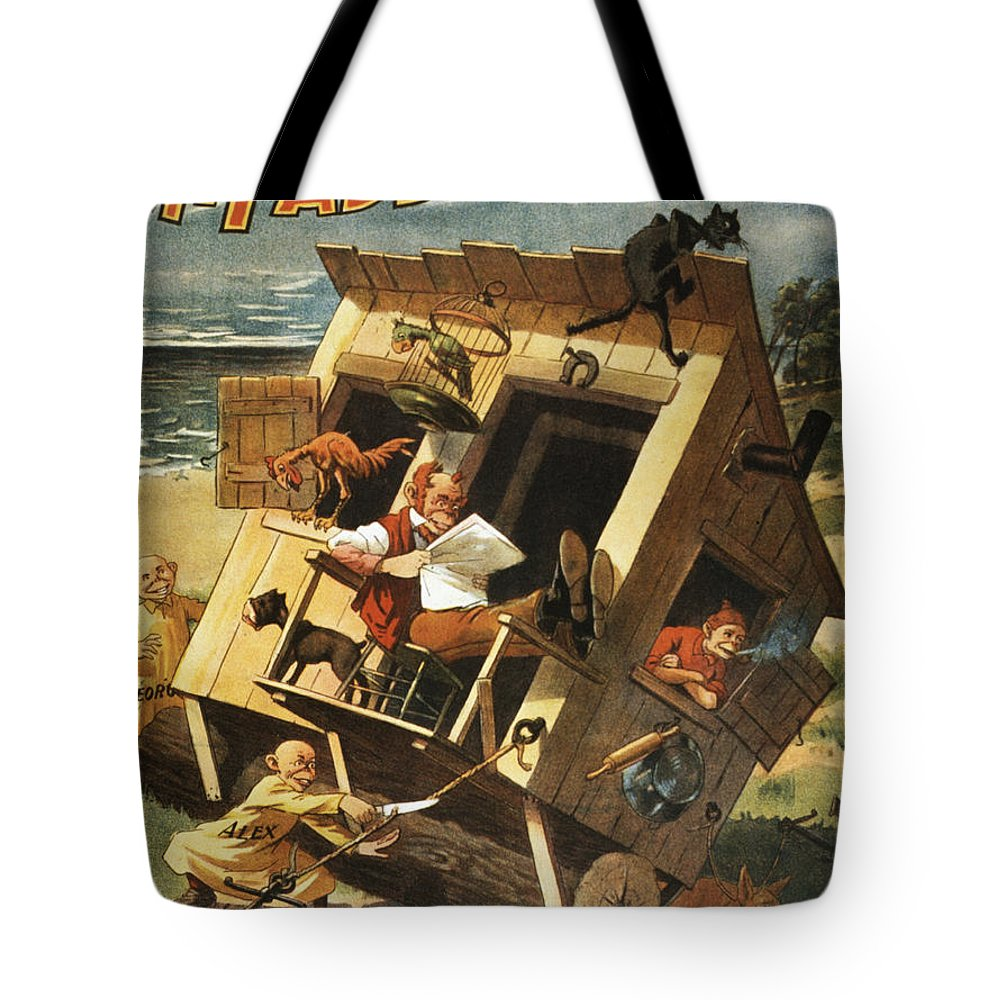 Entertainment Tote Bag featuring the drawing Leggo The Anchor by Aged Pixel