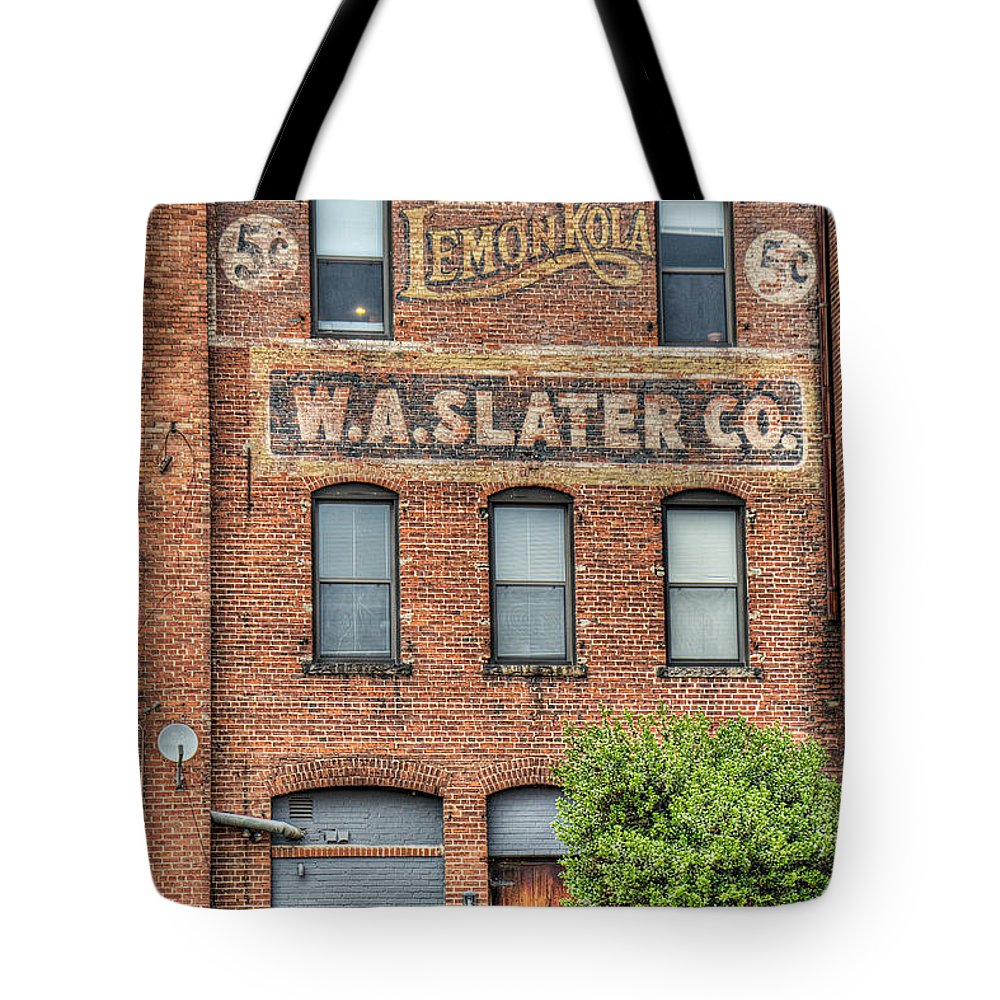 Durham Tote Bag featuring the photograph Lemon Kola 5 Cents by Emily Kay