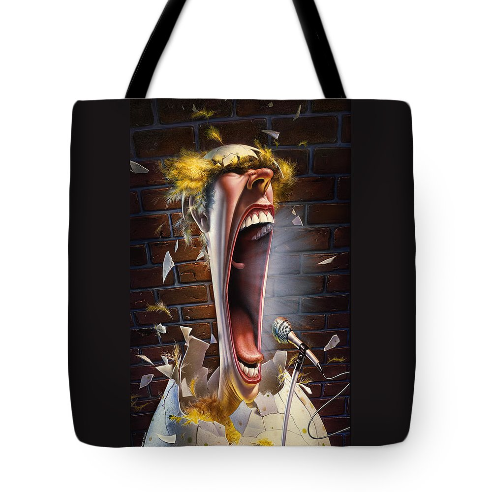 Johnny Carson Tote Bags