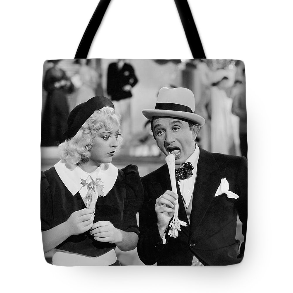 1930s Tote Bag featuring the photograph Lessons In Eating Celery by Underwood Archives