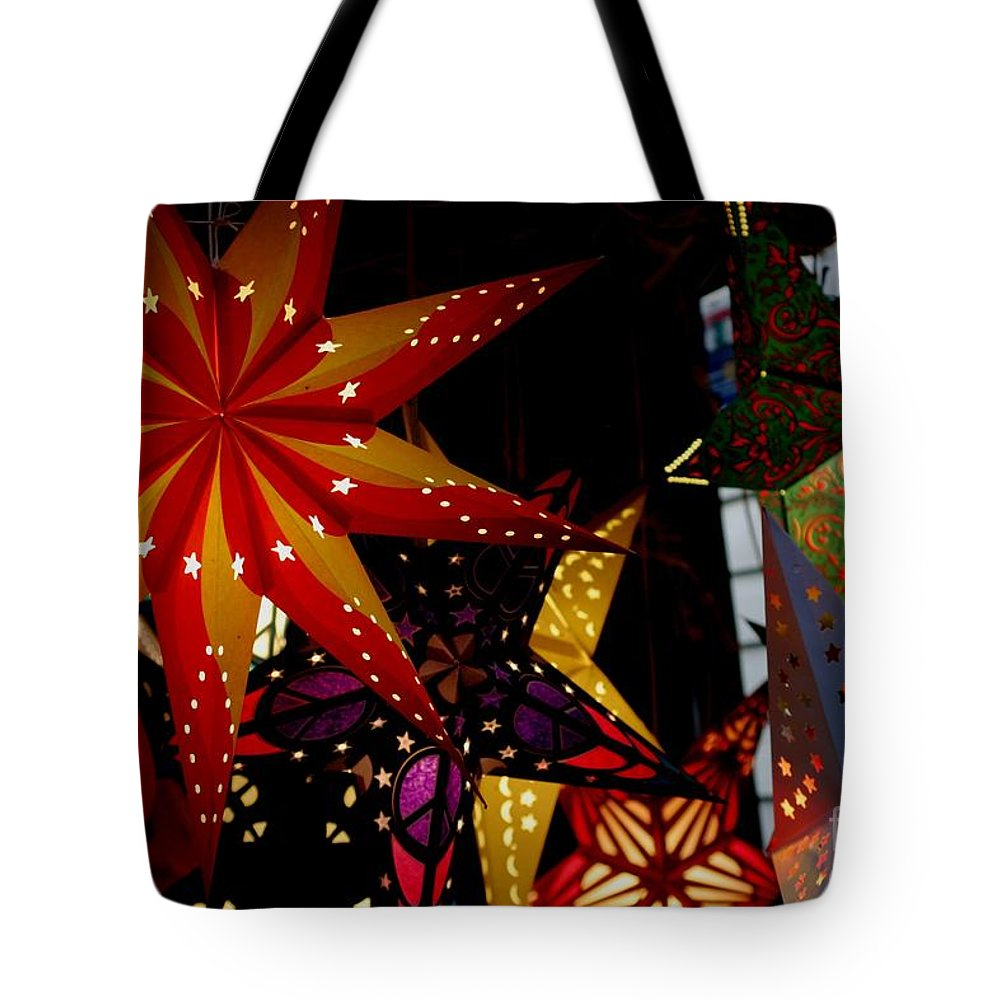 Luminaries Tote Bag featuring the photograph Let There Be Light by Living Color Photography Lorraine Lynch
