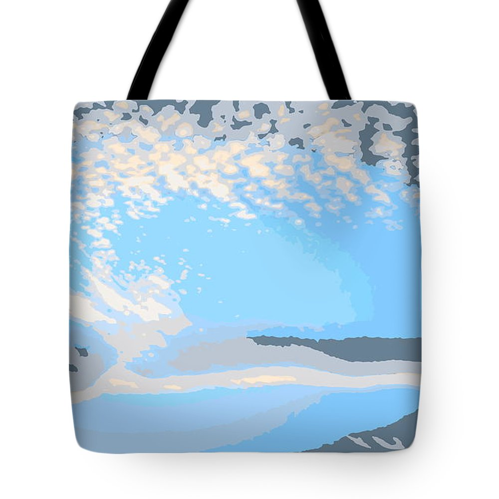 Abstract Tote Bag featuring the photograph Let Your Spirit Fly by Sybil Staples