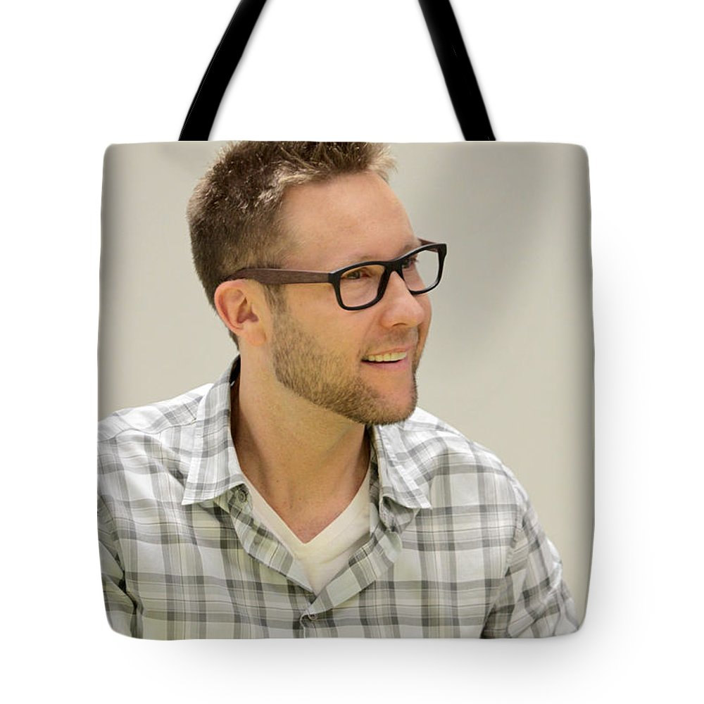 Lex Luthor Tote Bag featuring the photograph Lex Luthor by Dwight Cook