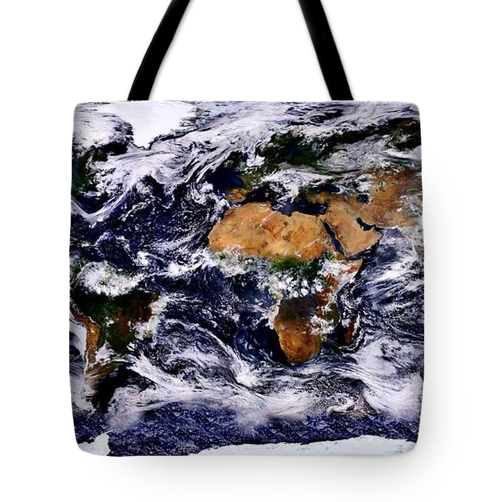 Earth Tote Bag featuring the photograph Life by Benjamin Yeager