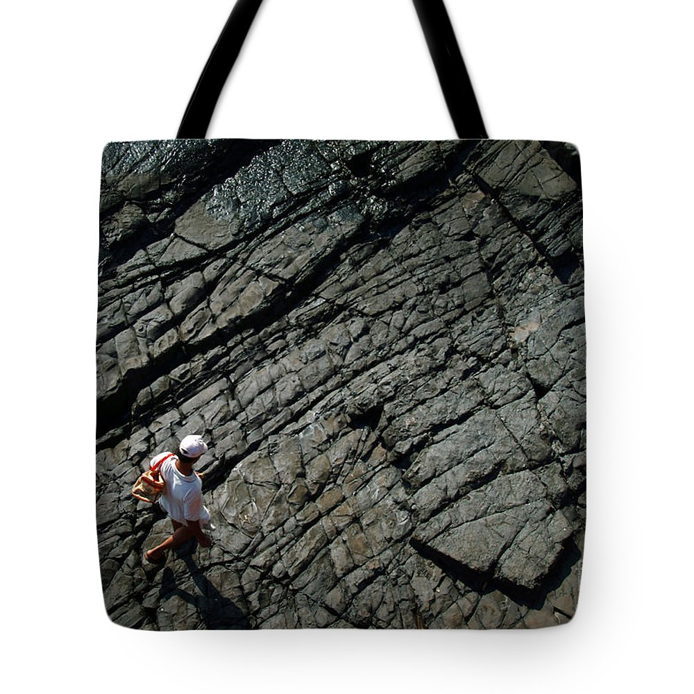 Walk Tote Bag featuring the photograph Life Lines by Dattaram Gawade